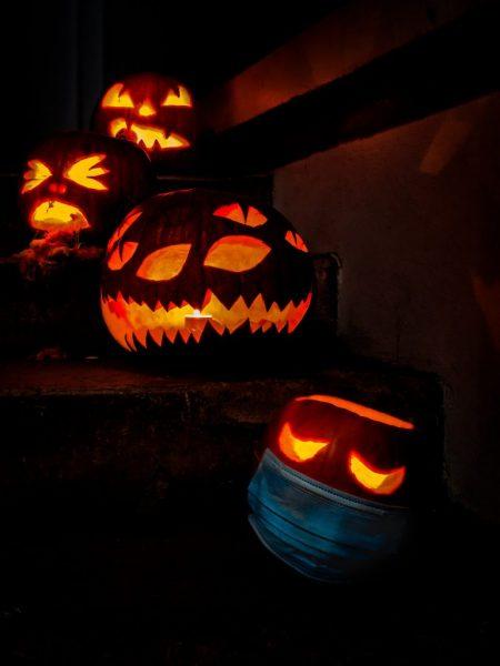 Covid-19 Pumpkin Carving